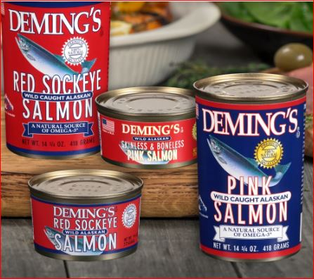deming canned seafood